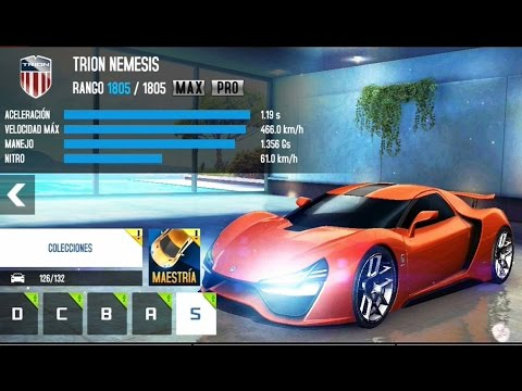 Asphalt 8 Trion Nemesis Upgrades Max Amp Pro Youtube
