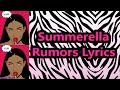 Download Summerella - Rumors (Lyrics) MP3 song and Music Video