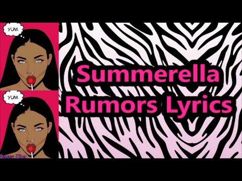 Summerella - Rumors (Lyrics)