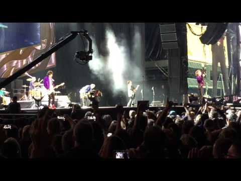 Rolling Stones - Zip Code Tour - Petco Park - 5/24/2015 - Band Introduction - Jumping Jack Flash