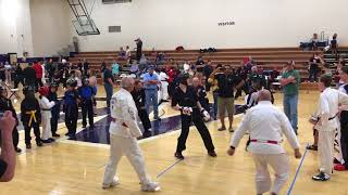 Hayden Cogdell's 2nd Fight for 1st Place at The Middle Tennessee Open Karate Games 2018 wins 5-0