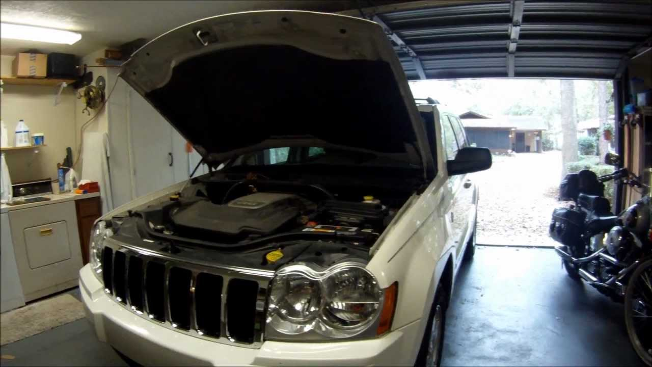 05 jeep grand cherokee starting problem