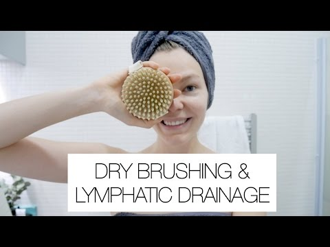 Dry Brushing and Lymphatic Massage
