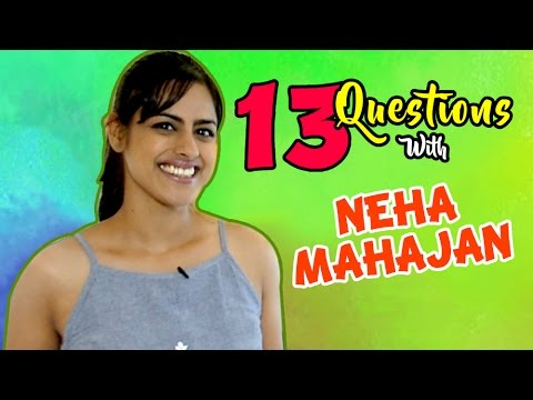 Top 13 Questions with Neha Mahajan | Tuza Tu Maza Mee Marathi Movie | Lalit Prabhakar