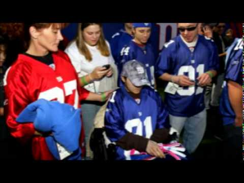 Brick Strong - NY Giants Justin Tuck & Evan ashleylaurenfoundation.org