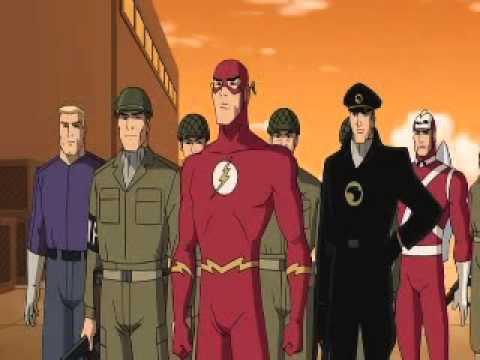 Justice League New Frontier Superman Civics Lesson