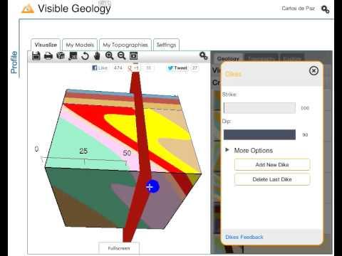 Creando bloques geológicos con Visible Geology