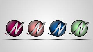 كيفية استخدام حرف (ن) لخلق 3D تصميم الشعار في Adobe Illustrator CC بسهولة 1080p