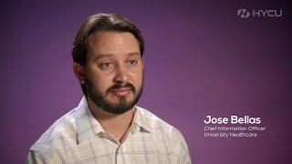 Jose Bellas, University Health Care, Using Nutanix, AHV and HYCU