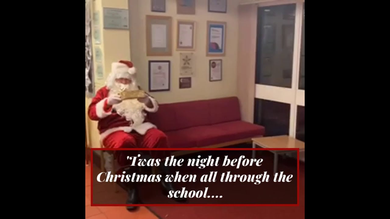 Father Christmas visits Wickham Common
