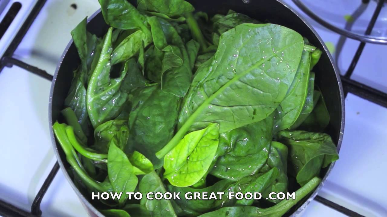 How to Prepare & Cook Spinach - Collards Kale Greens - YouTube