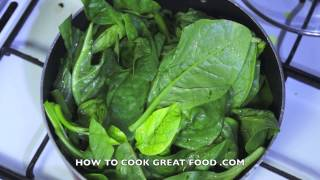 How To Prepare & Cook Spinach - Collards Kale Greens