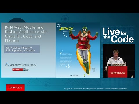 Build Web, Mobile, and Desktop Applications with Oracle JET, Oracle Cloud, and Electron