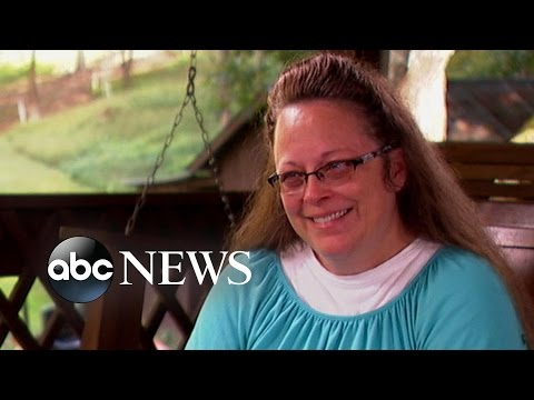 Kim Davis INTERVIEW | Defends Denying Same-Sex Marriage Licenses
