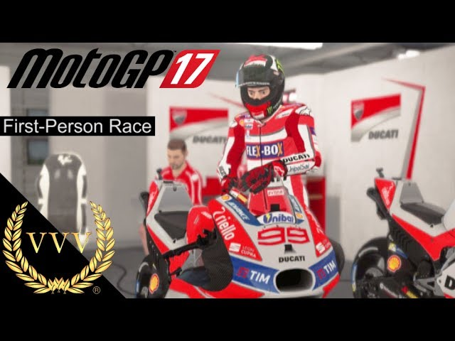 MotoGP 17 - First Person View, Barcelona Jorge Lorenzo