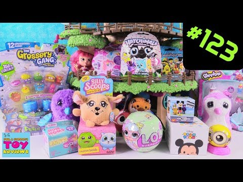 Blind Bag Treehouse #123 Unboxing Disney Hatchimals Silly Scoops LOL Surprise Toy | PSToyReviews