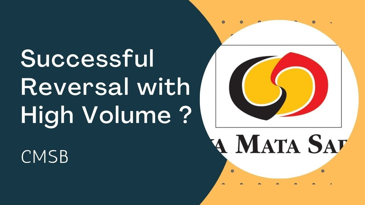 Download CMSB - Successful Reversal with High Volume. Detailed Review based on Volume Spread Analysis