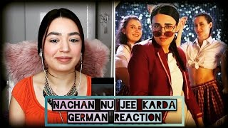 GERMAN REACTION | Nachan Nu Jee Karda Video Song | Angrezi Medium | Irrfan Khan | Radhika | Nikhita