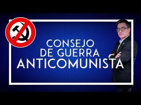 Inicios del Consejo de Guerra Anticomunista