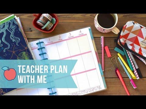 Teacher Plan With Me - First Week of School!