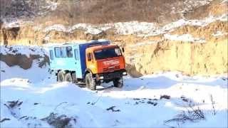 Вахтовый автобус Камаз-43114 УСТ-54535(Вахтовый автобус на шасси Камаз 43114-1014-15 предназначен для оперативной доставки рабочих (ремонтных, строител..., 2012-02-22T05:48:46.000Z)