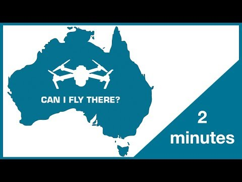 Flying A Drone In Australia (2018) - AUS Drone Rules In Under 2 Minutes