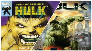 EVOLUTION OF THE INCREDIBLE HULK GAMES (1994 - 2008)