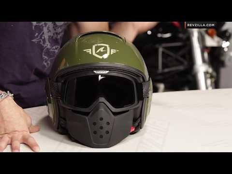 Shark Raw Trinity Helmet Review at RevZilla.com
