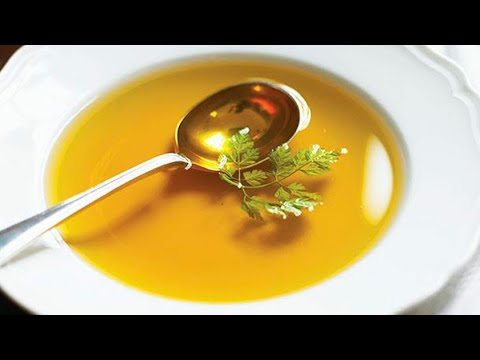 Consomme Clear Soup Recipe/Slow Cooking.(Good For The Sick And Kids) Italian Brodo.