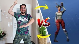 FORTNITE DANCE CHALLENGE in REAL LIFE 😂 Fortnite Tanz Challenge mit Lulu & Leon - Family and Fun
