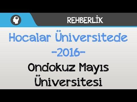 Hocalar Üniversitede - Ondokuz Mayıs Üniversitesi
