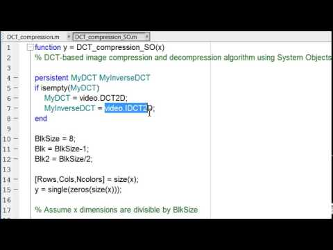 Accelerate Image Compression Algorithm Using MATLAB Coder   MATLAB Video mp4