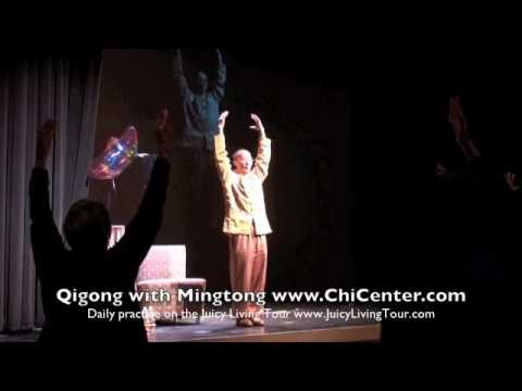 Daily 17 min Qi Gong practice with Mingtong