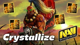 Crystallize Juggernaut Omnislasher - Dota 2 Pro Gameplay