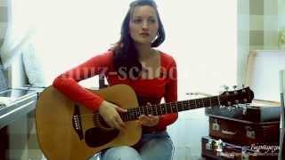 Урок №4. Аккомпанирующая гитара. Основы игры и пения на примере песни В.Цой