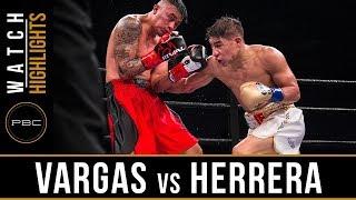 Vargas vs Herrera HIGHLIGHTS: December 15, 2017 - PBC on FS1