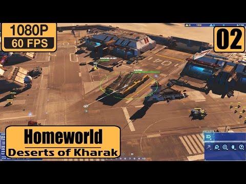 Homeworld: Deserts of Kharak gameplay walkthrough Part 2 - Epsilon Base |
