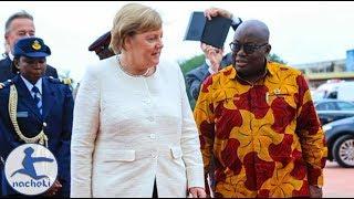 Baixar Ghanaian President Shows German Chancellor  his Country