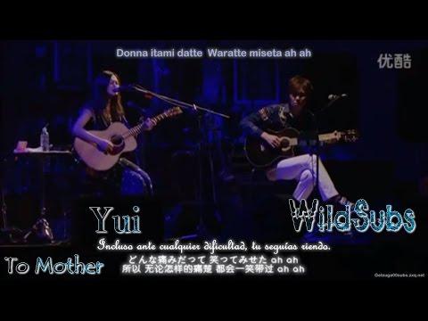 [Live] Yui - To Mother subespañol