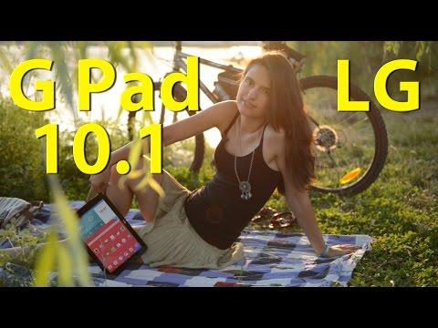 LG G Pad 10.1: обзор планшета