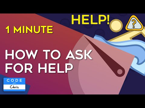 How to Ask for Help in One Minute (and a little more)