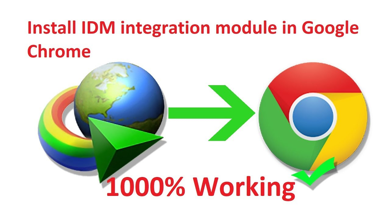 How to add IDM extension to google chrome browser 2019 version