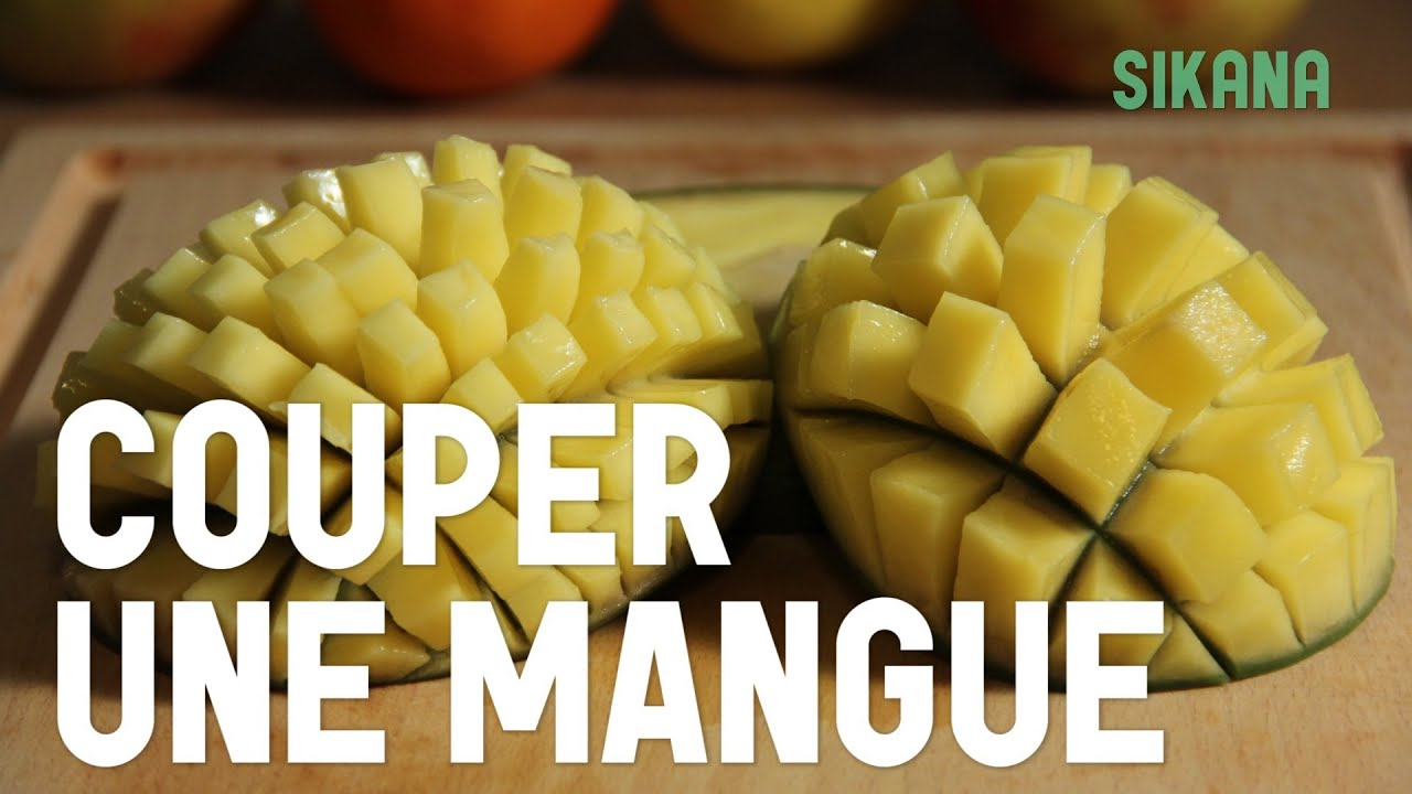Couper une mangue cuisiner des l gumes youtube - Comment couper des parties d une video ...