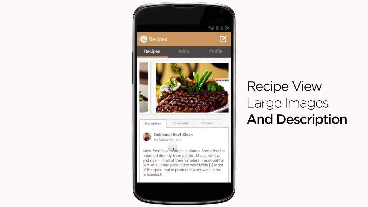 Food app template for android source code for sale youtube forumfinder Gallery