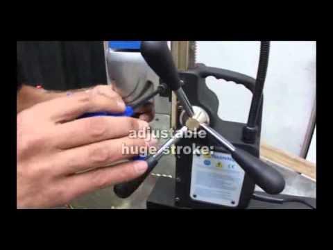 Бормашина за ядково пробиване с магнитна стойка JEPSON MAGPRO 35/2 ADJUST #ZgSie6U6jWI