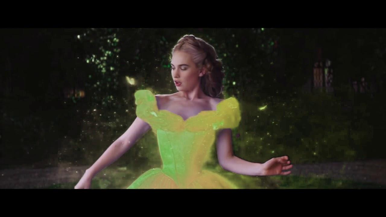 Cinderella YELLOW Dress Transformation - YouTube