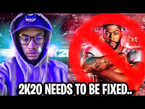 EMERGENCY! THE STATE OF NBA 2K20 IS BASICALLY UNPLAYABLE! RANT!