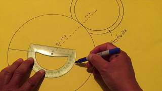 COMO HACER UN CONO ( TRAZOS CALIDAD HD) DESARROLLO PLANO Y 3D