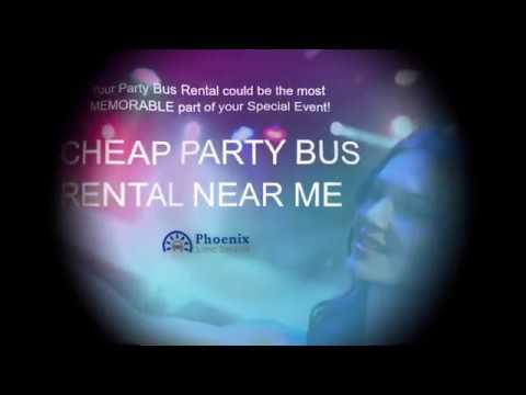 Cheap Party Bus Rentals Near Me - Limo Service Phoenix
