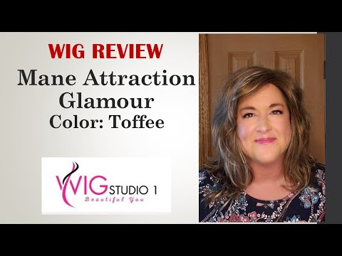Download Mane Attraction GLAMOUR Wig Review | TOFFEE | DENISE SHEETS